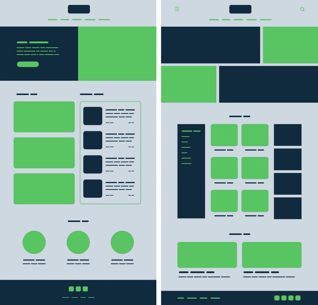 принцип симетрії в дизайні інтерфейсів
