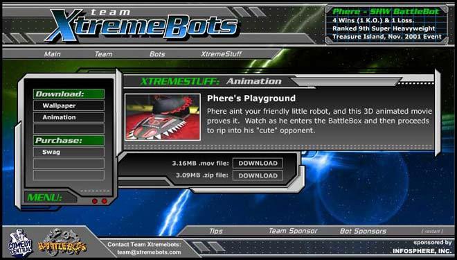 Типовий веб-дизайн початку 2000-х