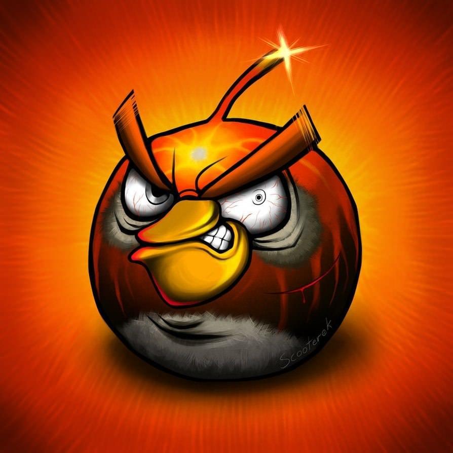 Ілюстрації по мотивам гри angry birds від
