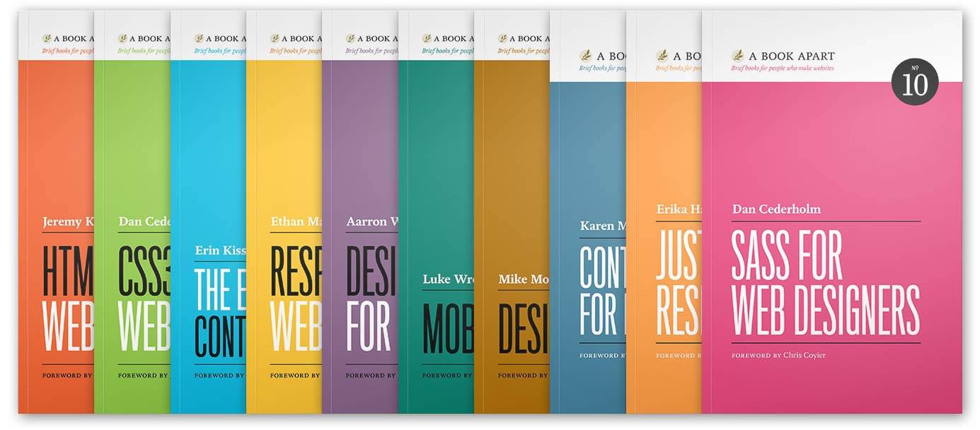 A BOOK APART LIBRARY