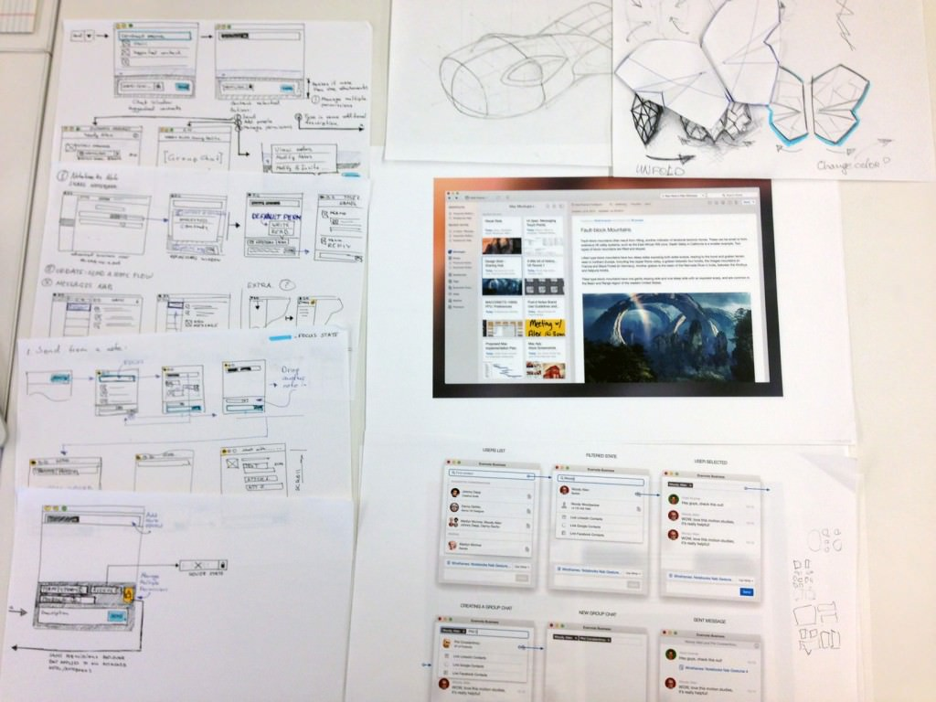 evernote ux prototype