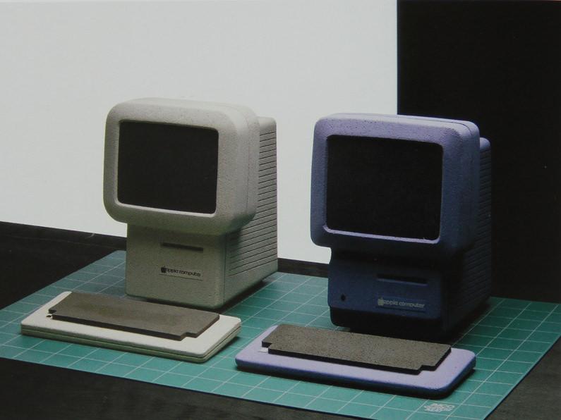 Apple snow white «macintosh studies», 1982