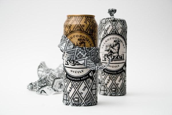 Дизайн для пива Velkopopovicky Kozel